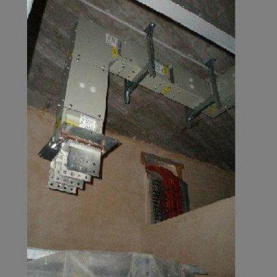 Blindocompatto 2.000A pieza terminal para montar los flexibles