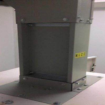 Blindocompatto 2.000A placa de fijación del terminal al techo del cuadro