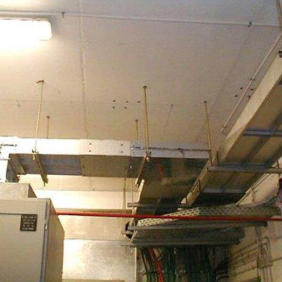 Blindocompatto 2.500A suspendido desde el techo