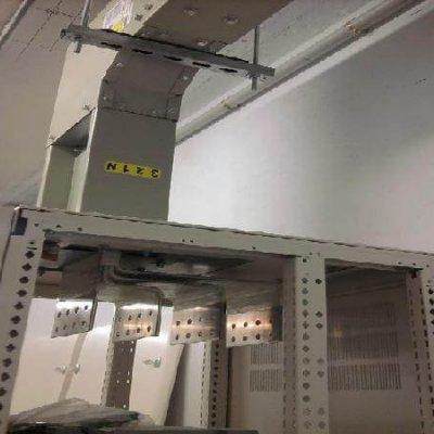 Blindocompatto BX 2.000A terminal especial con pletinas en forma de F