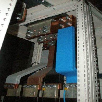 Blindocompatto BX 2.000A unión terminal a interruptor de pletinas plano