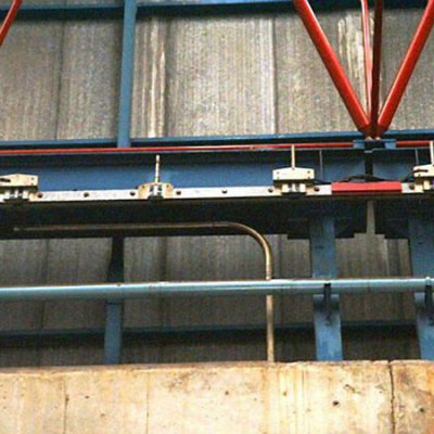 Blindotrolley 200A Detalle junta de dilatación