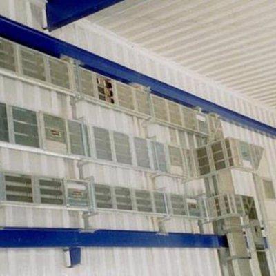 Líneas Blindoventilato 2000 y 2500A en desarrollo por la pared