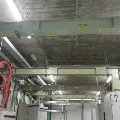NUEVO HOSPITAL DE VIGO. Aplicación del blindos: 36 Interconexiones entre trafos, cuadros y grupos (2000A-2500A).
