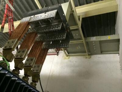 Blindocompatto BX-E 5.000A unión flexible a trafo de aceite
