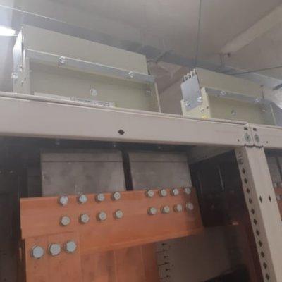 Blindocompatto BX-E 4.000A terminal con embarrado interior cuadro